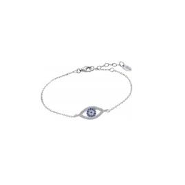 Lotus Silver zilveren armband met oog