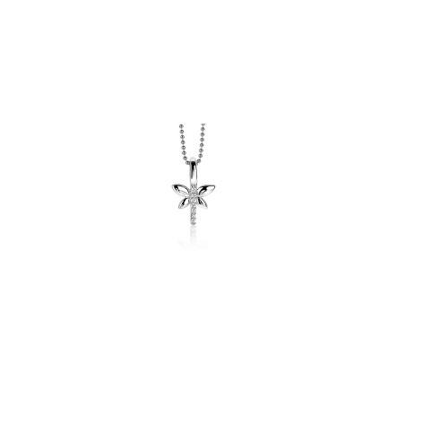 Zinzi zilveren hanger libelle