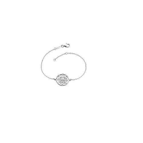 Engelsrufer zilveren armbandje mandala