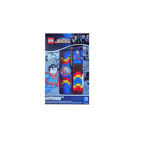 Lego kinderhorloge - DC Super Heroes - Superman