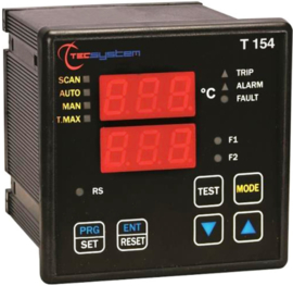 TEC T154-ED16 temperature monitoring relay for PT100 elements