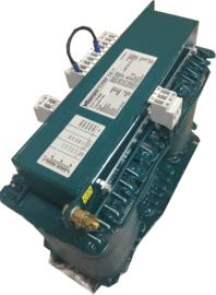 3-fasen naar 1-fase transformator  380V..460V/230V 2000VA
