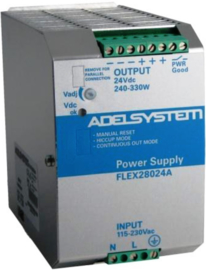 336W AC/DC Power Supply 115-230/24VDC 14A