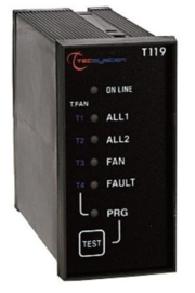 TEC T119 temperature monitoring relay for PTC elements