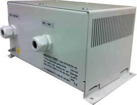 125W conventionele gelijkrichter 230V/24VDC in metalen behuizing