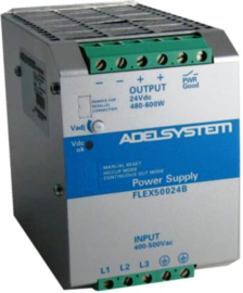 480W AC/DC Power Supply 3-fasen 400V/24VDC 20A