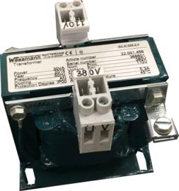 1-fase transformator 380V/110V 30VA Scheepsuitvoering