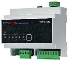 TEC T119-DIN Temperatuur bewaking voor PTC elementen