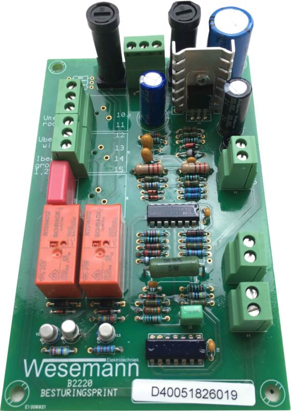 Sturingsprint 4005 tbv N350 apparatuur