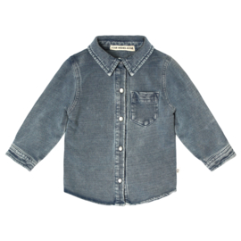 Your Wishes Knitted Denim | Shirt (98-116)