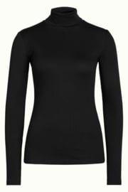 King Louie Rollneck Top Tencel Rib