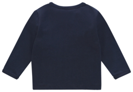 Noppies U Tee ls Amanda elephant navy
