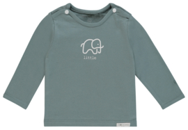 Noppies U Tee ls Amanda elephant mint