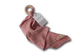 Chewie doek Roze stip