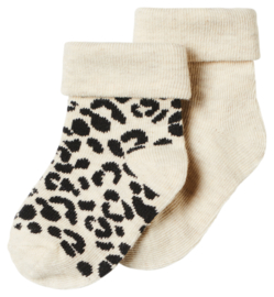 Noppies U Socks 2 PCK Blanquillo 611