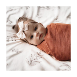 Chewies&More Swaddle XL 135x135 Roest