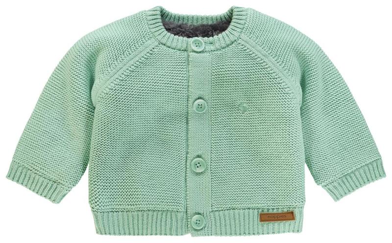 Noppies U Cardigan Knit ls Lou Mint
