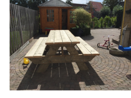 Picknicktafel XL