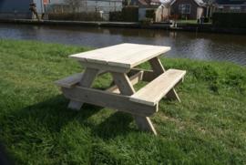 Kinderpicknicktafel van steigerhout
