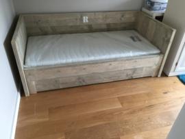 Bedbank uitschuifbaar 5cm dik