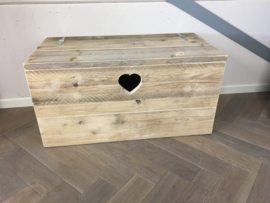 Speelgoedkist hart