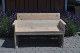 Steigerhouten bank Basic DHZ