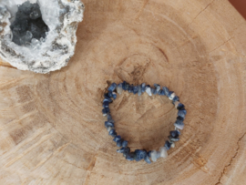 Lapis lazuli splitarmband