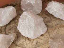 rozenkwarts ruw 100 - 150 gram