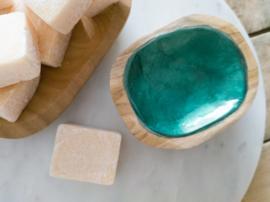 schelp schaaltje smaragd