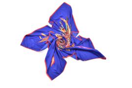 Geschenkset Ibiza feathers | Zijden sjaal + notitieboek (A5) + paspoorthoesje | Verpakt in giftbox | Cadeau | veren