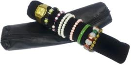 Sieraden opberger - Reis etui horloges en armbanden- Handig voor vertegenwoordigers - Op reis en vakantie