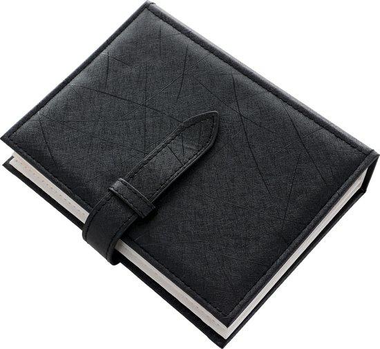 Reis etui voor oorbellen - oorbellen opbergen - gemakkelijk voor op reis - zwart - sieraden etui - oorbellen boek