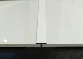H verbindingsprofiel Saetfix Alu. wit