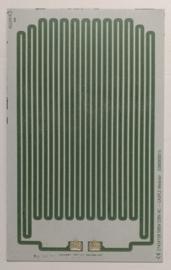 Vervangpaneel Wit x 3