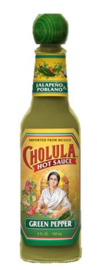 Cholula Hot Sauce Green Pepper