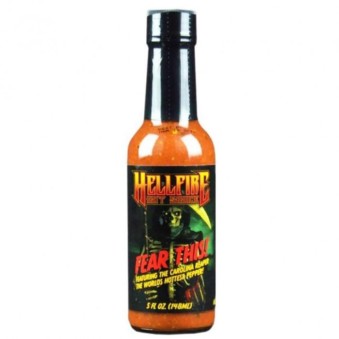 Hellfire Fear This Carolina Reaper Sauce