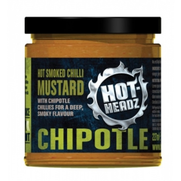 Hot Headz! Smoky Chipotle Mustard
