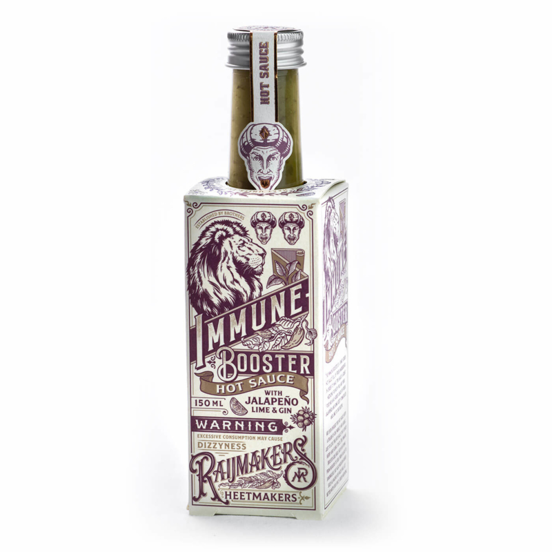 Raijmakers Heetmakers Immune Booster with Jalapeno, Gin & Lime