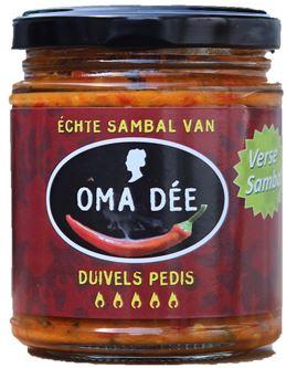 Oma Dee Sambal Duivels Pedis
