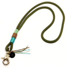 "keycord ""happy military green"""