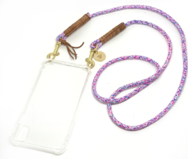 "smartphone ketting ""happy purple"""