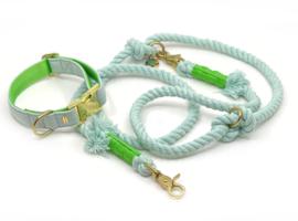 "SCUBA set ""NAUTIC"" - mint & apple green"