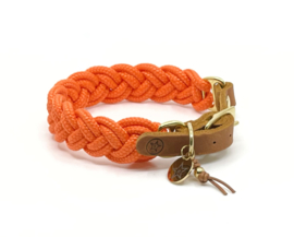 halsband gevlochten touw verstelbaar