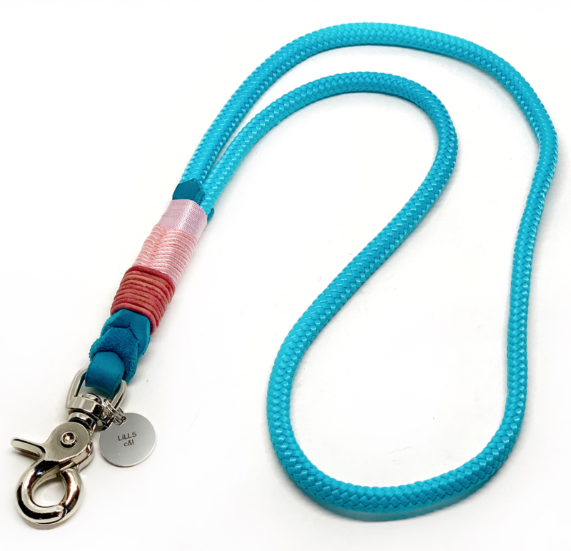 """keycord deluxe """"turquoise rose"""""""