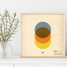 Wielren poster - tour de France