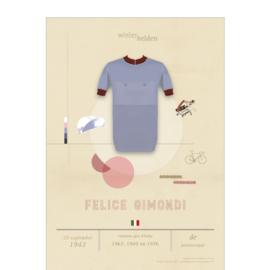 Poster wielrennen - Gimondi