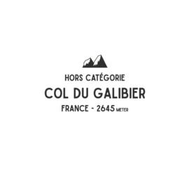 Wielren sweater col du Galibier