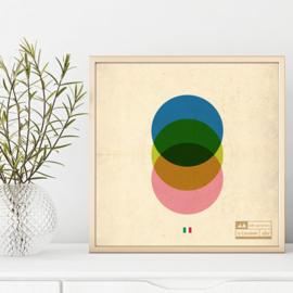 Wielren poster - giro d'Italia