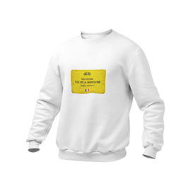 Wieler sweater col de la Madeleine