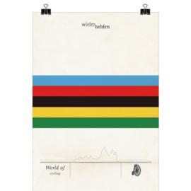 Wielerposter - wk wielrennen